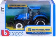 tracteur-new-holland-bburago-1-32-collection-ferme-bleu-et-noir